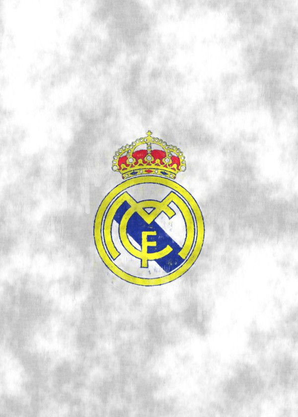 "Football Club Emblems Sketch Real Madrid #Displate artwork by artist ""J.P. Voodoo. Part of a 5-piece set featuring artwork based on UEFA Champions League football club emblems. £35 / $46 per poster (Regular size), £63 / $84 per poster (Large size) #Football #Soccer #PremierLeague #Championsleague #FIFA #UEFA #Arsenal #Chelsea #FCBarcalona #ManchesterUnited #RealMadrid"