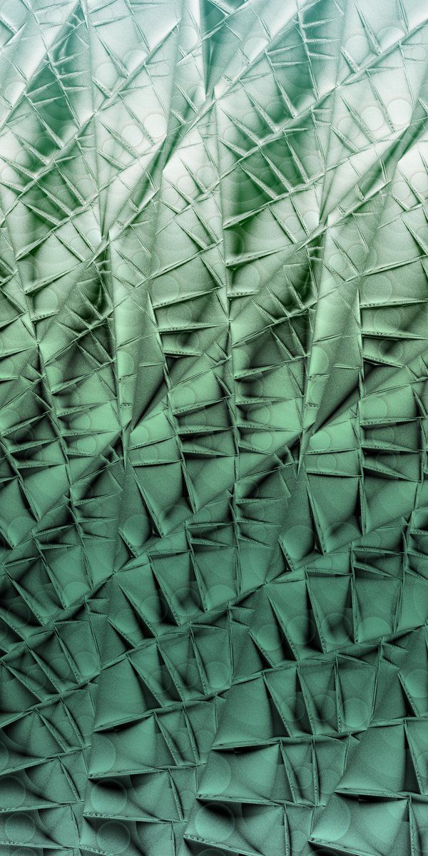 Manipulated fabric by Fiery Fire. Called Cactus Wall there are a lot of tucks in this to create this great texture.