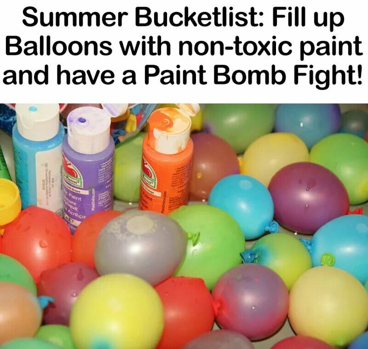 Paint Bomb Fight!
