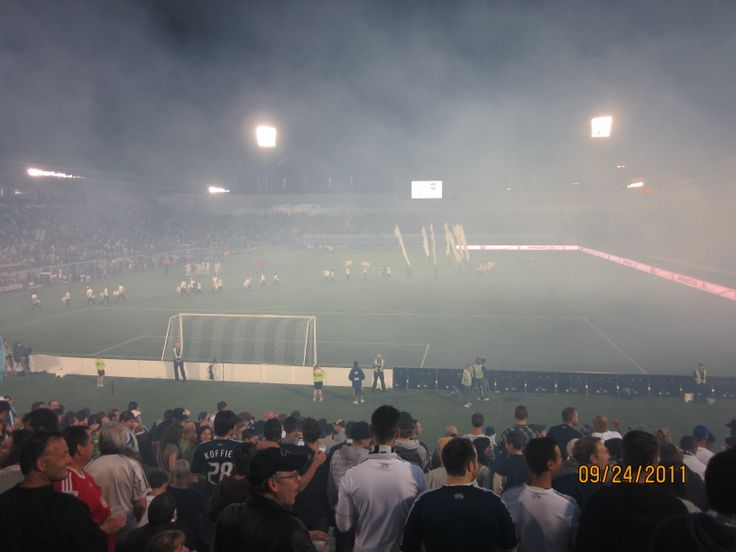 Last Whitecaps game ever played @ Empire Stadium