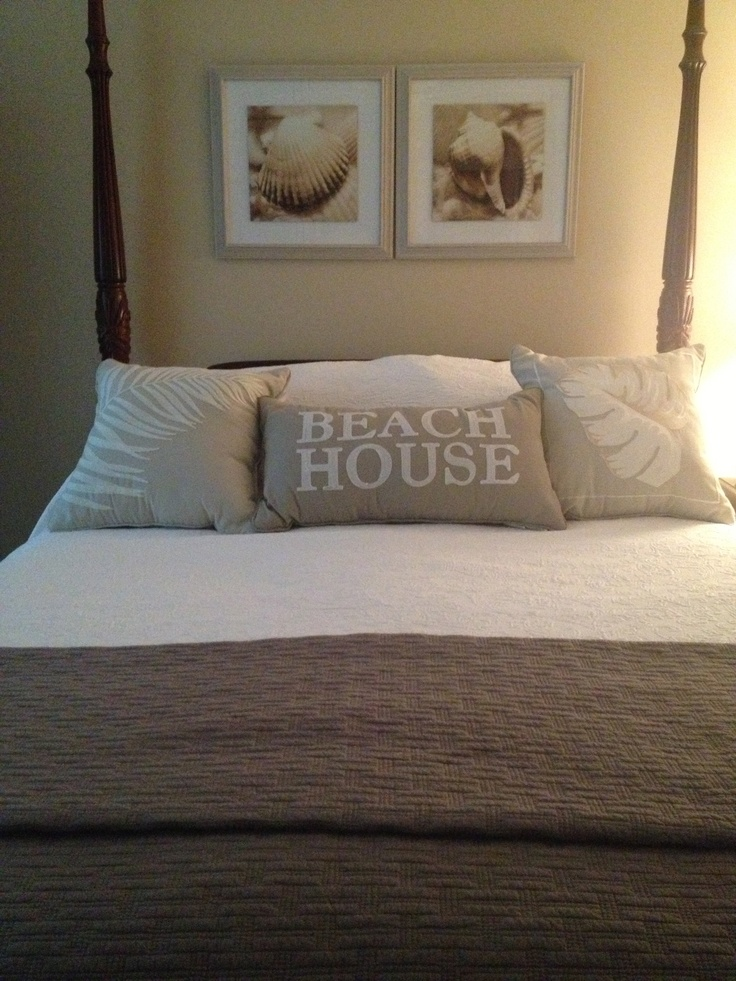 Bedroom With Beach Theme Beach House Pinterest