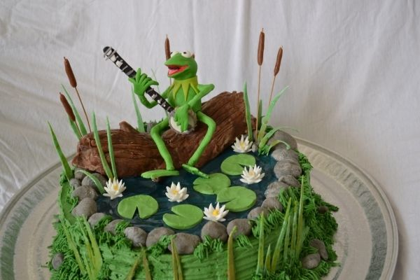 Kermit the Frog: Galleries, Cake Design, Birthdays, Muppet Kermit, Frog Cakes, Frogs, Birthday Cakes, Birthday Ideas