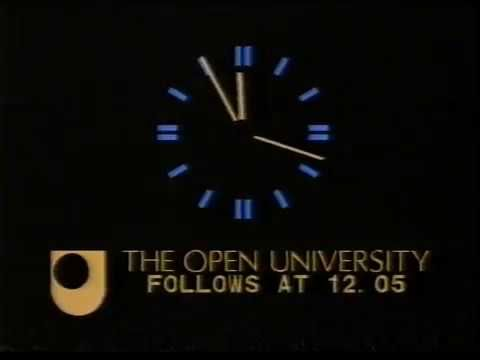 BBC1 (& OU) / BBC2 continuity: Monday 18th May 1987 The campaigning for the general election has kicked off, prompting a few schedule changes for BBC1 - including a post-midnight Open University programme transferred from BBC2.  Cathy Stewart (BBC1) and Andy Cartledge (BBC2) are the evening announcers with David Wheal handling the short OU transmission.