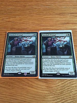 Mtg 2 x #emrakul's evangel #magic the gathering #eldritch moon,  View more on the LINK: http://www.zeppy.io/product/gb/2/262578857118/