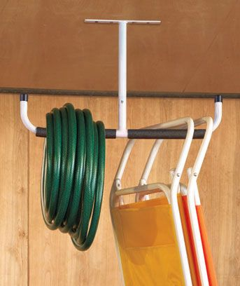 Overhead Storage Bar. Use two and add board shelving for storing anything! From Lakeside Collection-$5.95 each.