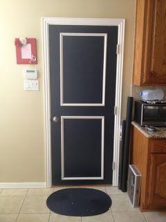"""per porta d'ingresso magari con una vernice """"lavagna"""" bluette"""