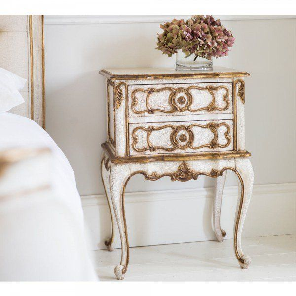 French Style Bedside Cabinets French Bedroom Company Furniture