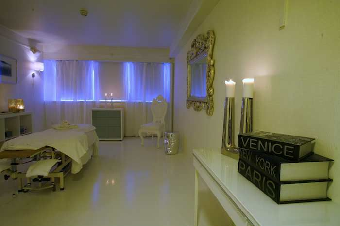 Spa facilities at the neighbouring Radisson Hotel