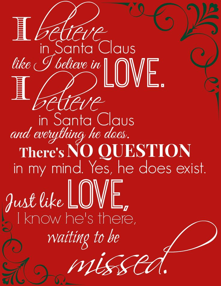 "I just love these lyrics from ""The Year Without A Santa Claus""."