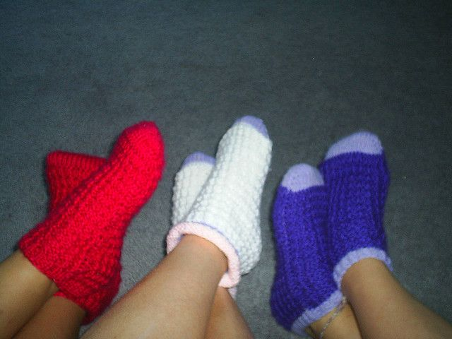 67 best socks and foot warmers images on Pinterest   Knitting ...