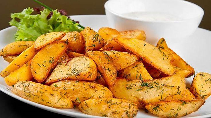 Fokhagymás sült burgonya a sütőből, a világ legfinomabb burgonyája!