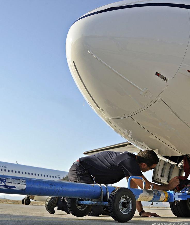 """AEGEAN ENGINEERING Olympic Air ATR 42-600 - cn 1016 SX-OAX ΟΨΕΙΣ - ΜΑΤΙΕΣ Κτήριο 57 Τεχνική Βάση Olympic Air.Athens International Airport """"Eleftherios Venizelos"""" ATH/LGAV"""