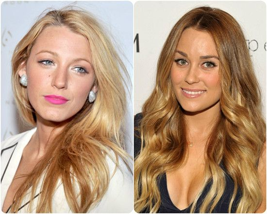 New Hair Colors 2014: Sombré for a Softer Transition Celebrity Hair Styles