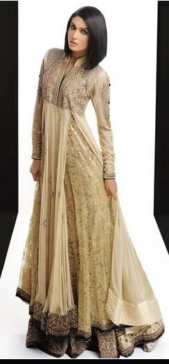 Gorgeous Floor Length Anarkali