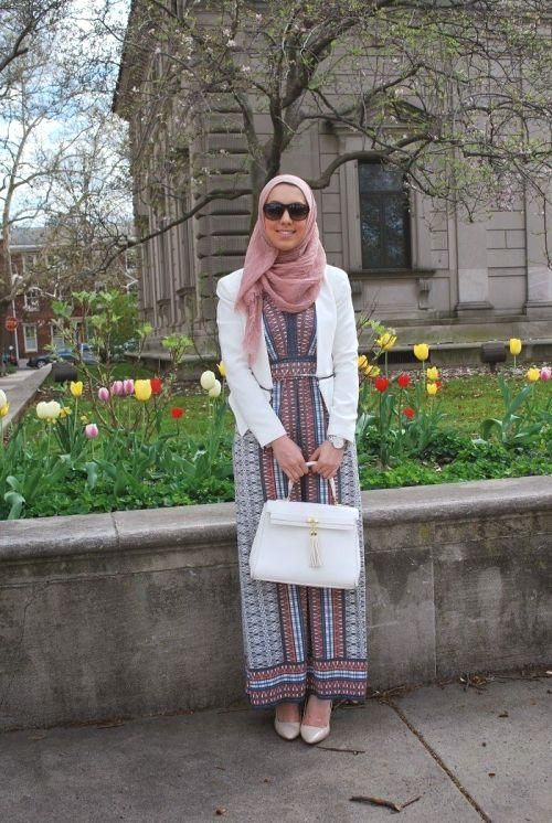 hijab classy dress outfit, Stylish hijab looks by Hani Hulu http://www.justtrendygirls.com/stylish-hijab-looks-by-hani-hulu/