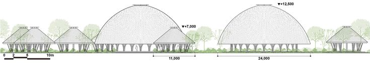 Imagem 19 de 20 da galeria de Centro Comunitário Diamond Island / Vo Trong Nghia Architects. Section