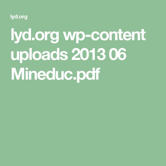 lyd.org wp-content uploads 2013 06 Mineduc.pdf