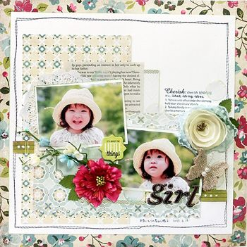 """Yuko Tanaka July Limited Edition kit """"Plum Seed"""" collection by Webster's Pages 2013"""