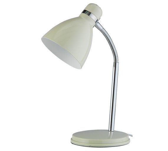 Buy ColourMatch Desk Lamp - Cotton Cream at Argos.co.uk, visit Argos.co.uk to shop online for Limited stock Home and garden, Limited stock clearance