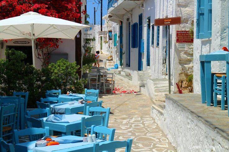 Kimolos island Agora cocktail bar