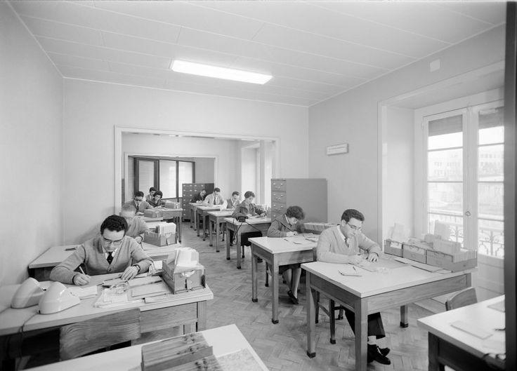 Caixa Sindical de Previdência dos Profissionais do Comércio, Lisboa, 1945