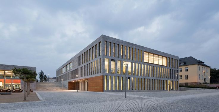 New building for the University- and State-Library Fulda  / ATELIER 30