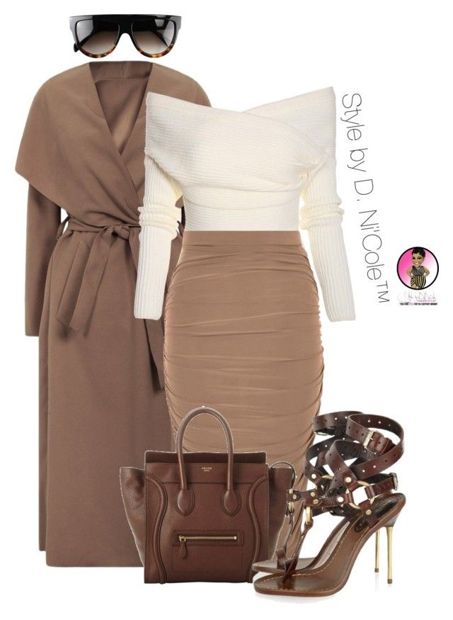 """Untitled #2792"" by stylebydnicole ❤ liked on Polyvore featuring CÉLINE and Emilio Pucci"