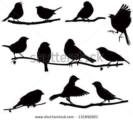 1000+ ideas about Bird Silhouette Tattoos on Pinterest ...