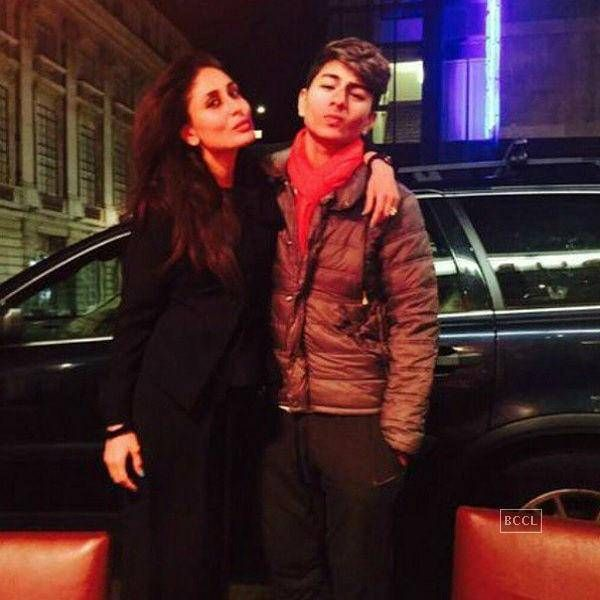 Kareena Kapoor & step-son, Ibrahim - PICS: Saif Ali Khan's family vacation in London