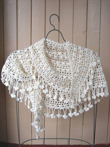 Crescent Moon #Shawl #scarf #crochet