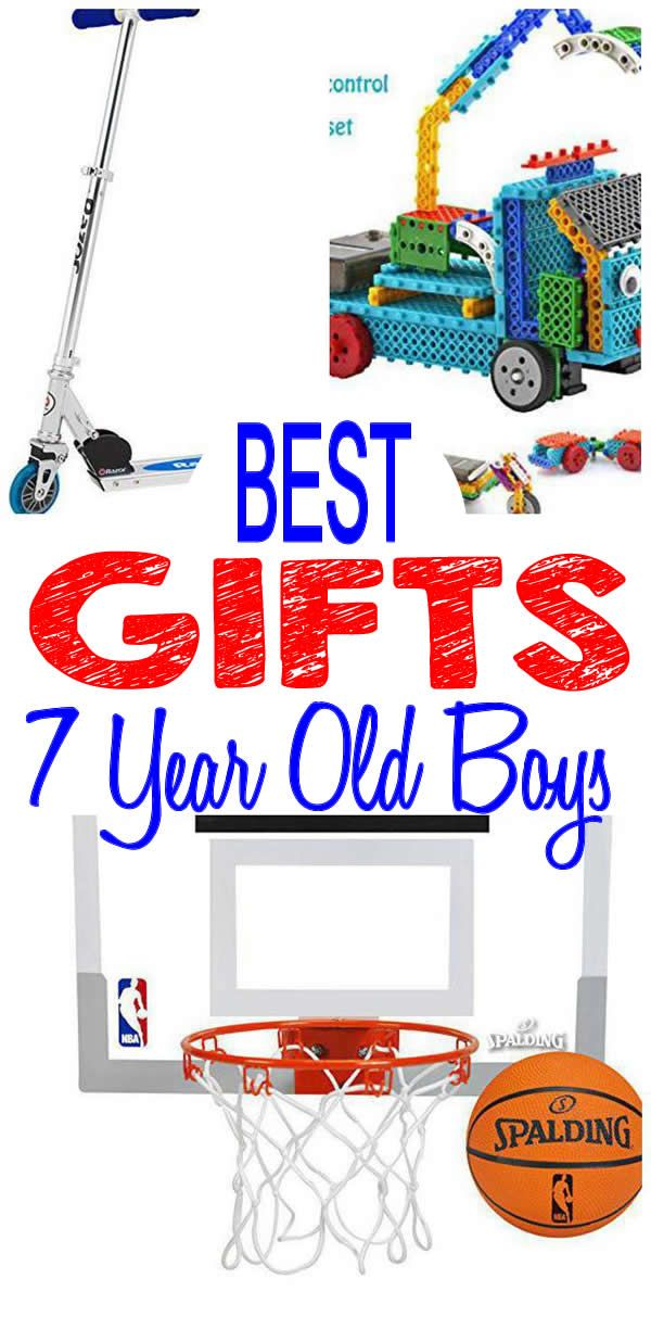 BEST 7 Year Old Boys Gifts To Put Under The Tree This Cool Trendy Popular Presents Perfect For Also Make Great Birthday