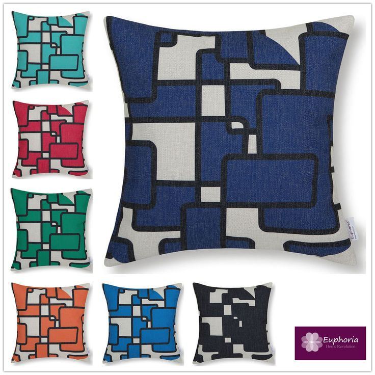 Euphoria Cushion covers Magic Geometric Scatter cushions Decorative Throw pillow