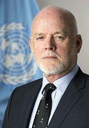 S.E. Sr Peter Thomson, Presidente del septuagésimo primer período de sesiones de la Asamblea General de las Naciones Unidas