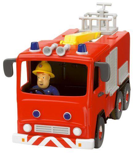 Fireman Sam - Fire Engine friction avec Sam Figure: Amazon.fr: Jeux et Jouets