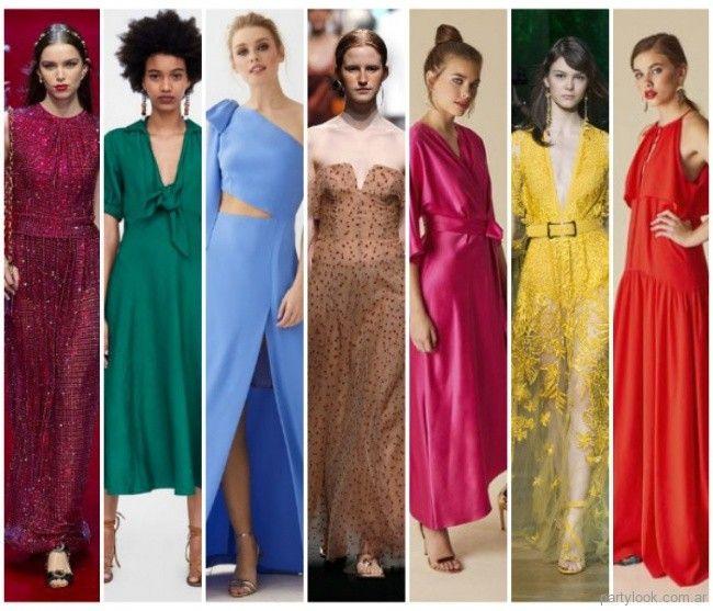 Te presentamos las tendencias de moda para vestidos de fiesta primavera verano  2019 de Argentina. cb40dbb59c7b