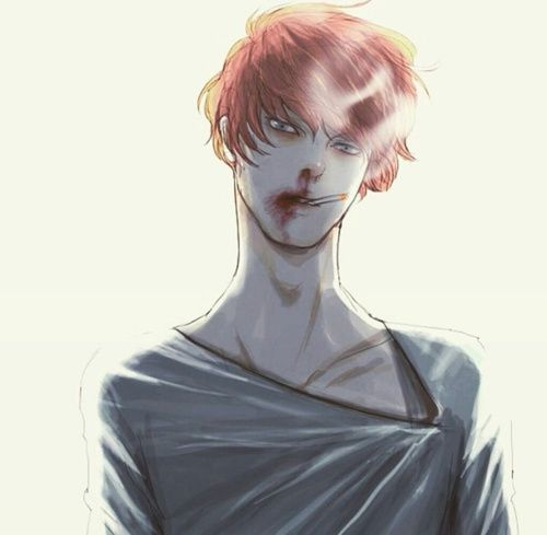 3086 best Dark, Bloody, Crazy, Pain, Gore/ Guro (Animes ... Bloody Dead Anime Guy