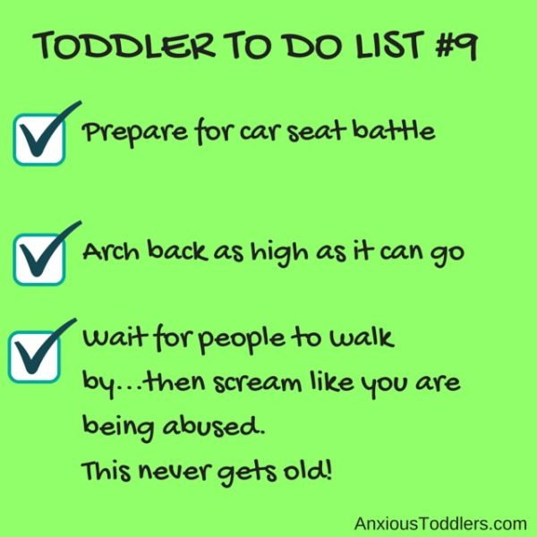 Hysterical Toddler To Do Lists Laughter Is The Best Medicine