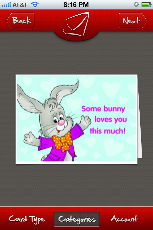 Easter card for kids