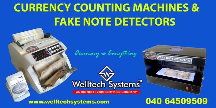Welltech Systems bring in unprecedented efficiency and accuracy in currency counting operations – for Banks, Financial Institutions, Industries, Corporate's, Mall's, Shopping complex's etc. Our machine's are built with state of art design and stringent quality control with minimum maitainence and serves you longer. Welltech Systems has emerged as leaders in trading, distributing, wholesaling and supplying a wide array of Currency Counting Machine, Note Detector.