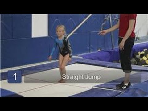 Intro to Gymnastics : Trampoline Exercises for Preschool Gymnastics
