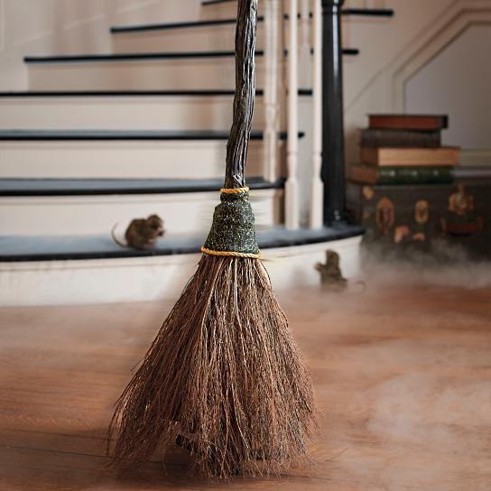 Animated Sweeping Broom - Grandin Road