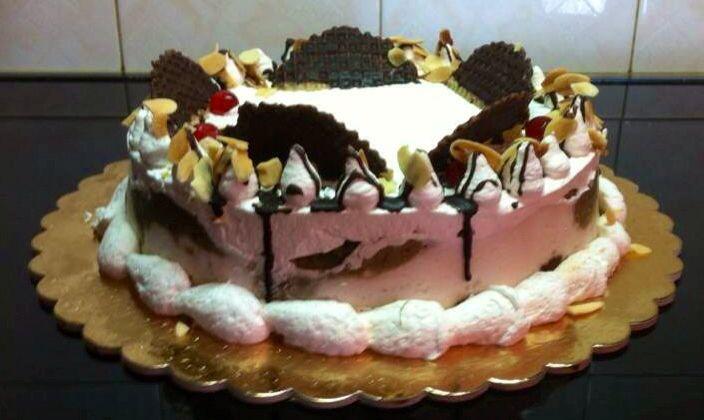 Sicilian cake,looks delightful:)
