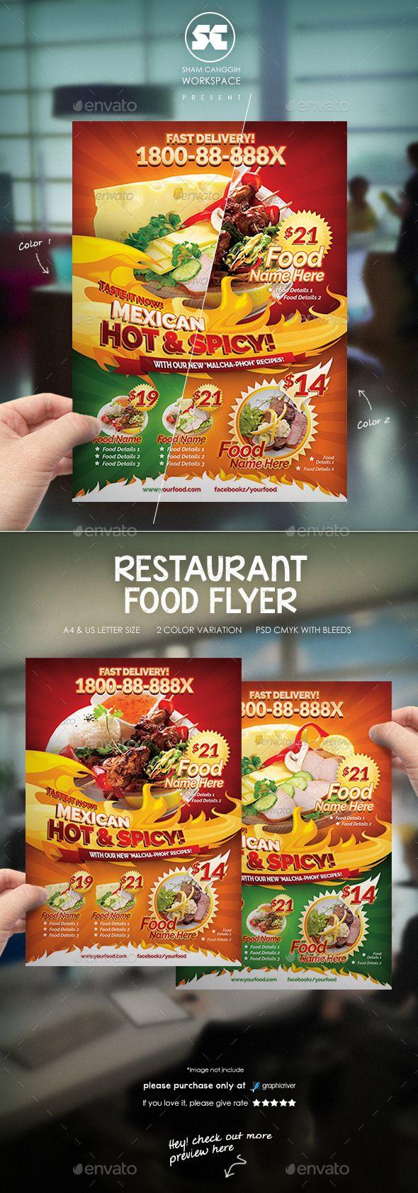 food delivery flyer samples