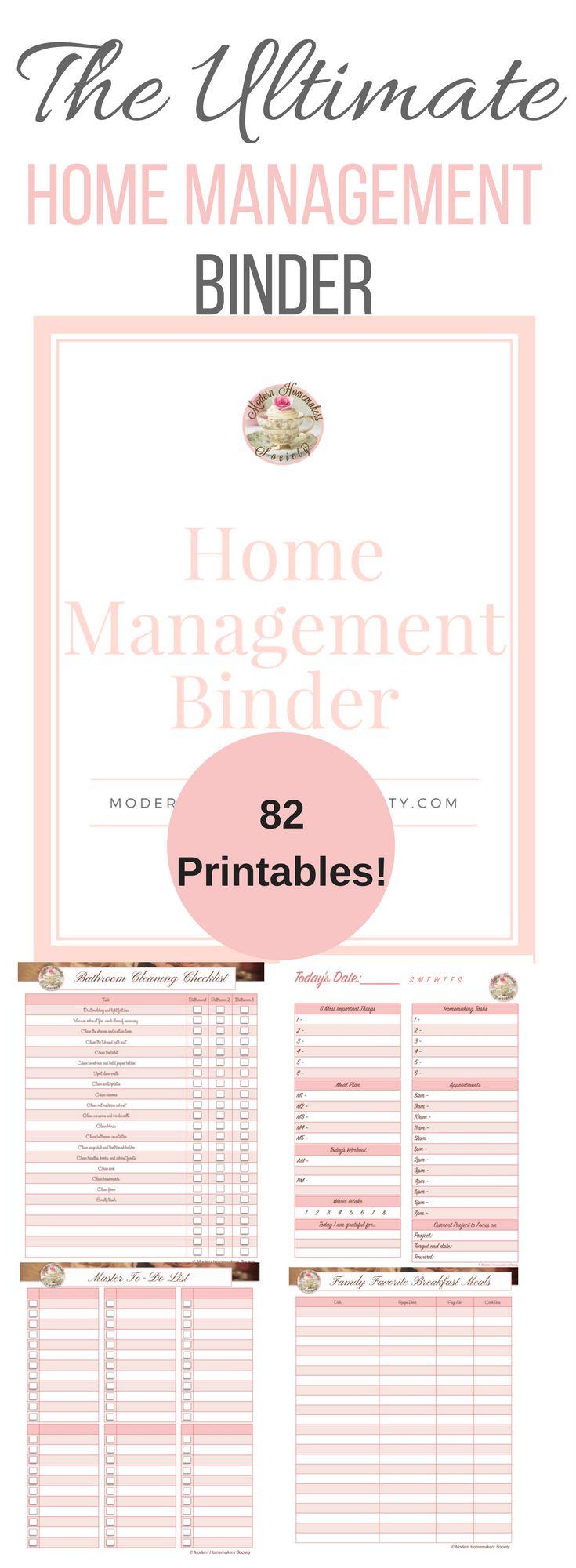 The Ultimate Home Management Binder