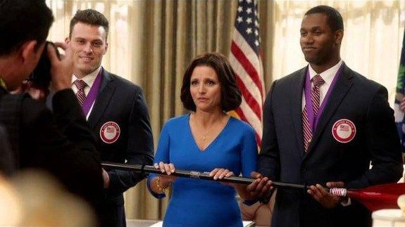 Selina Meyer is 'not that kind of a president' in 'Veep' Season 5 promo http://ift.tt/1LB9oW2  Like any dispassionate ruthless TV president Selina Meyer is still figuring things out. When Veep returns in April the HBO comedy will see President Meyer (Julia Louis-Dreyfus) struggling to keep the country afloat while contesting a tied presidential election.  SEE ALSO: Daniel Radcliffe Julia Louis-Dreyfus and more read hilarious mean tweets  Shes joined by the usual team  from prodigious Vice…