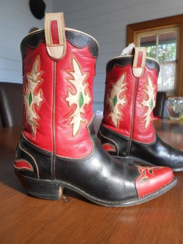 1940's Vintage Custom Cowboy Western Boots |