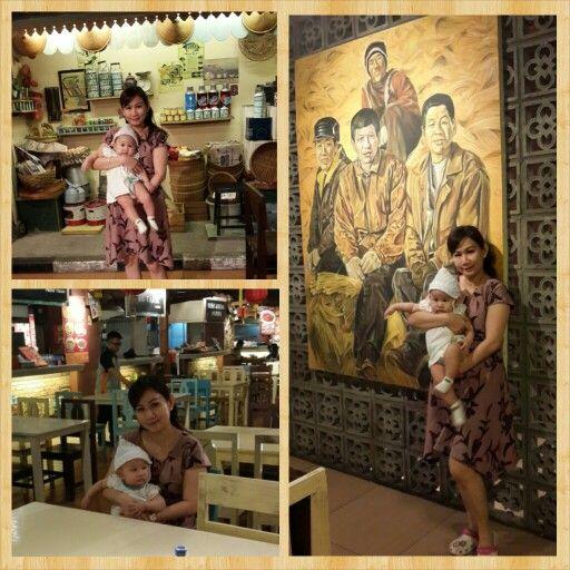 Batik dress in my daily life