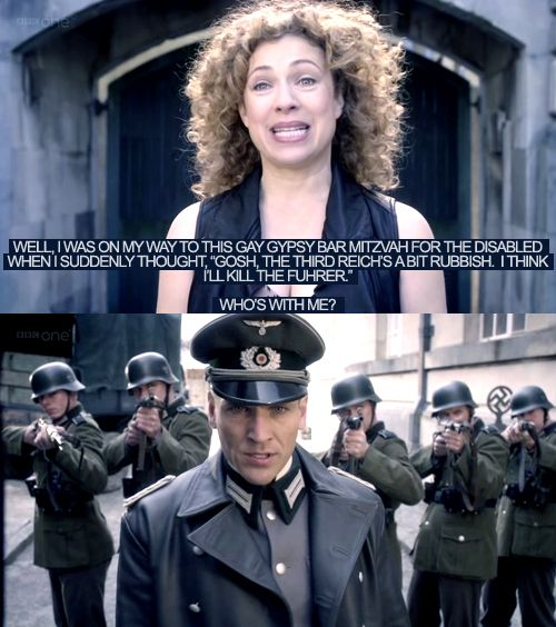 """People are always posting stuff on Pintrest about crushing on the Doctor. Me, I think I'm in love with River Song. :)""<---From a previous pinner. She is rather fantastic though, isn't she ;)"