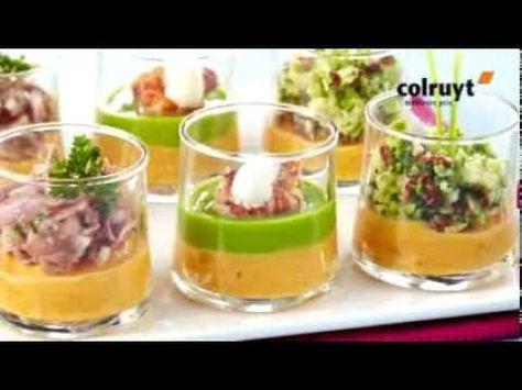 Recette amuses-bouches de Noël : croustillant pomme de terre, magret, figues rôties miel épices - YouTube