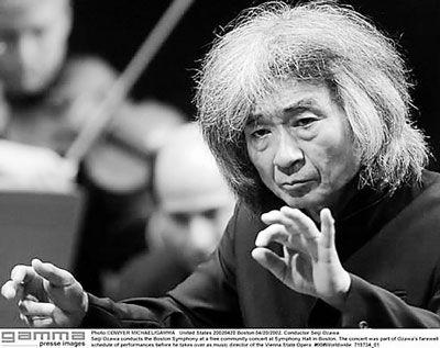 Seiji Ozawa {Kennedy Center honoree 2015}